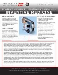 Interlink Electronics Case Study Medical FSR