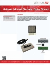 4-Zone Mouse Sensor data sheet