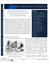 FSR in Medical/Healthcare Products