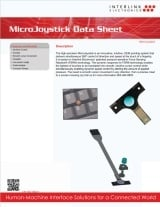 MicroJoystick data sheet