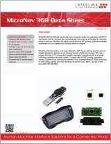 MicroNav 360 data sheet