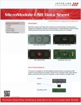 MicroModule USB data sheet