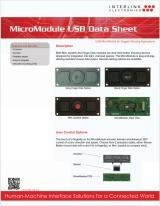 MicroModule USB data sheet