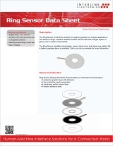 Ring Sensor data sheet