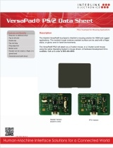 VersaPad PS/2 data sheet