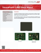 VersaPad USB data sheet