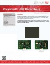 VersaPad USB data sheet