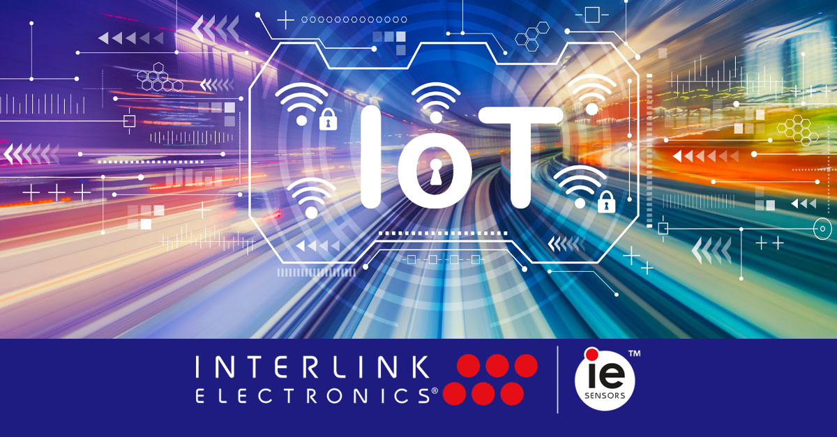 Interlink Electronics Internet of Things Graphic